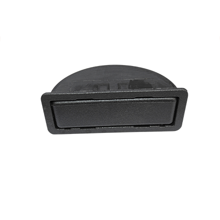 ASHTRAY-BLACK- PADDED TOP DASH RAIL