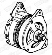 ALTERNATOR-55 AMP NEW-OUTRIGHT