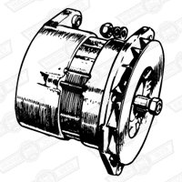 ALTERNATOR-RECON-11AC TYPE-PRE '69 (EXTERNAL REG)