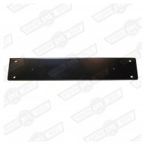 BACKING PLATE- REAR NO. PLATE-VAN/ESTATE