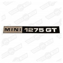 BADGE-BOOTLID-FOIL ONLY-'MINI 1275GT'-'96-'75
