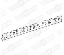BADGE-BOOTLID- 'MORRIS 850' - MK1 EXPORT MODELS