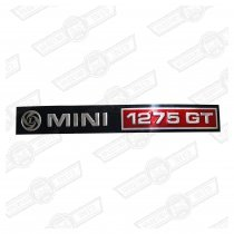 BADGE-FOIL ONLY-'MINI 1275GT' AND LEYLAND LOGO-'76-'77