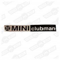 BADGE-FOIL ONLY-'MINI CLUBMAN' AND LEYLAND LOGO '77 ON GEN