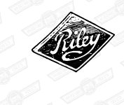 BADGE-RADIATOR GRILLE- 'RILEY'