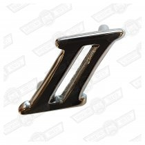 BADGE - SCRIPT ' ll ' (TWO) - BOOT LID