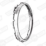 BEZEL-NIMBUS GREY-SEALED BEAM RETAINING