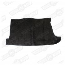 BOOT MAT- HARDURA, BLACK, SINGLE TANK MODELS