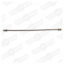 BRAKE PIPE-CUNIFER 14'' LONG-1 x M10 1 x 3/8''UNF MALE UNION
