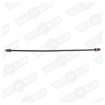 BRAKE PIPE-CUNIFER 14'' LONG 2 x M10 MALE UNIONS