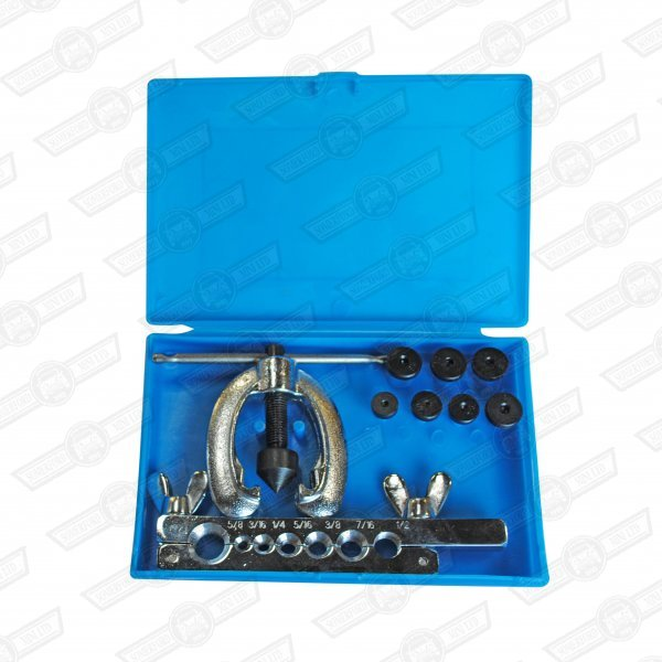 BRAKE PIPE FLARING KIT- 10 PIECE. HAND HELD