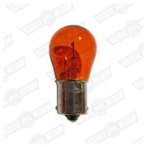 BULB-12V 21W INDICATOR-'97 ON AMBER (OFFSET PINS)