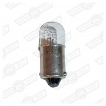 BULB-BA9s-BAYONET,SIDELIGHT/NUMBER PLATE 12V-4W