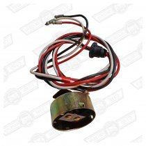BULB HOLDER & HARNESS-PREFOCUS-NO SIDELIGHTS