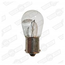 BULB-SINGLE FILAMENT, CLEAR-(INDICATOR ETC) 12V-21W
