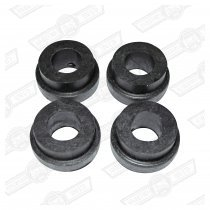 BUSH KIT-REAR SUBFRAME-SMALL- HEAVY DUTY RUBBER (4)