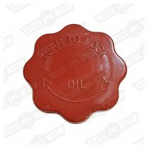 CAP-OIL FILLER-MG METRO TYPE (red)