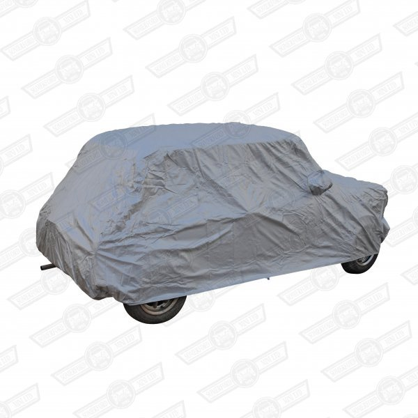 CAR COVER-TAILORED, INDOOR USE (SHOWERPROOF) FITS ALL SALOON