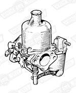 CARBURETTER-HS4-FIXED NEEDLE-850cc'64-'67-AUTOMATIC
