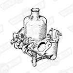 CARBURETTER-HS4-FIXED NEEDLE-850cc'67-'69-AUTOMATIC