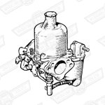 CARBURETTER-HS4-FIXED NEEDLE-998cc-1969 AUTOMATIC
