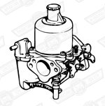 CARBURETTER-HS4-LH-FIXED NEEDLE TYPE