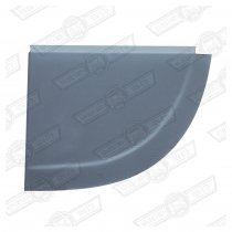 CLOSING PLATE-REAR VALENCE-ELF & HORNET-LH