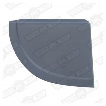 CLOSING PLATE-REAR VALENCE-ELF & HORNET-RH