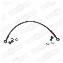CLUTCH HOSE-BRAIDED,ONE PIECE(cylinder to slave)-RHD