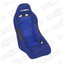 COBRA CLUBMAN SEAT, BLUE FABRIC
