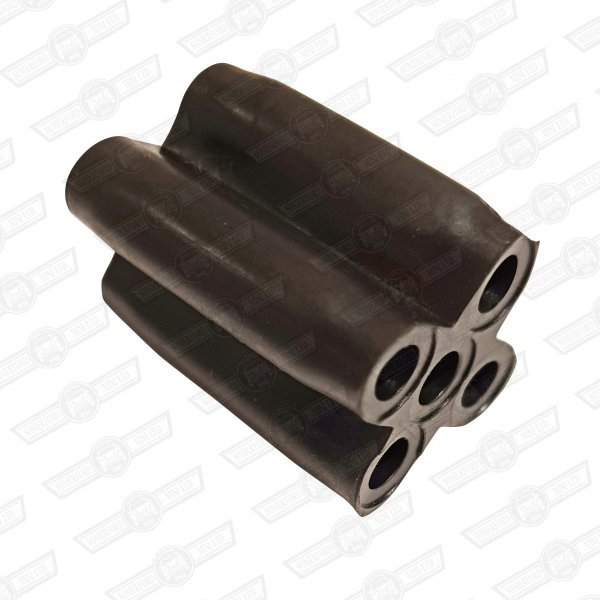 CONNECTOR-RUBBER-5 WAY-INSULATED CONTACTS