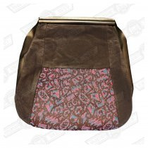 COVER-FRONT SEAT CUSHION-BLUE/PINK JAMBOREE-MINI 35