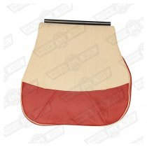 COVER-FRONT SEAT CUSHION-LSB/TARTAN RED/CHOPSTICKS-SEVEN 200