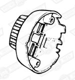 COVER-REAR-16 & 17ACR ALTERNATORS