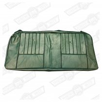 COVER-REAR SEAT CUSHION-GREEN/BLACK LEATHER-COOPER SE