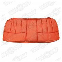 COVER-REAR SEAT CUSHION-TARTAN RED/CUMULUS LEATHER-'97 ON OP