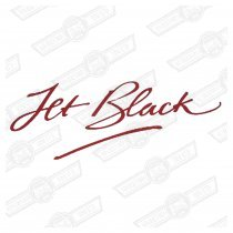 DECAL-BODY SIDE-'JET BLACK' GENUINE ROVER