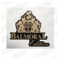 DECAL-BODYSIDE-'BALMORAL'-CHARCOAL CARS GENUINE ROVER