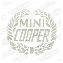 DECAL-BODYSIDE & BOOTLID-COOPER LAUREL- SILVER