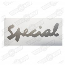 DECAL-BODYSIDE-'SPECIAL'-SILVER-EUROPE