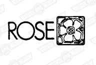 DECAL-BOOT LID-'ROSE'