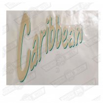 DECAL-BOOTLID-'CARIBBEAN' GENUINE ROVER