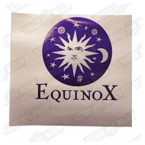 DECAL-BOOTLID-'EQUINOX'-SILVER CARS