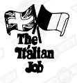 DECAL-BOOTLID-'ITALIAN JOB'- GREEN,BLUE,RED CARS