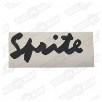 DECAL-BOOTLID-'SPRITE'-ADVANTAGE GREY-JAPAN GENUINE ROVER
