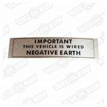 DECAL-NEGATIVE EARTH-'69-'76