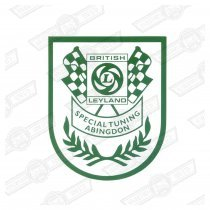 DECAL-SHIELD-'BRITISH LEYLAND SPECIAL TUNING'-'69-'74