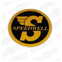 DECAL-'SPEEDWELL'-LARGE-INTERNAL FIX