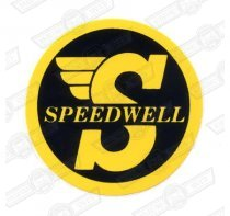 DECAL-'SPEEDWELL'-SMALL-AFFIX TO BODY
