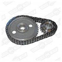 DUPLEX TIMING GEAR AND CHAIN SET-CAST GEARS
